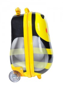 Kinderkoffer Rolly Trolley Bee Seitenansicht