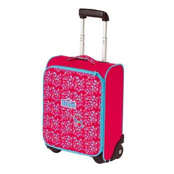 Verspielte Kinderkoffer für Mädchen in Pink und Rosa